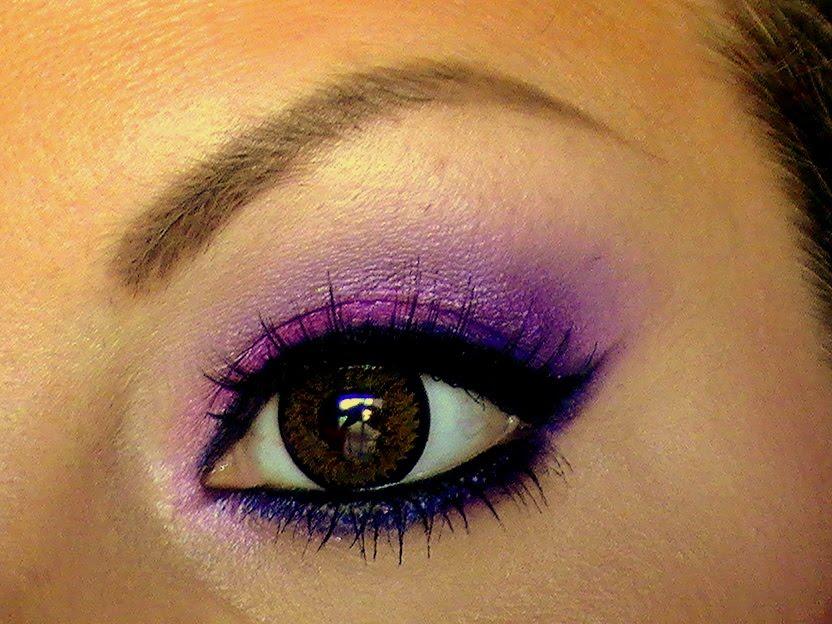 Makeup Fun With Jessie Easy Purple Smokey Eye