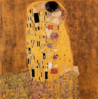 say and share: Gustav Klimt, The Kiss.