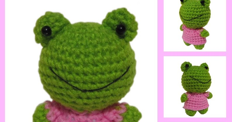 Amigurumi Frog - Sayjai Amigurumi Crochet Patterns ~ K and ...