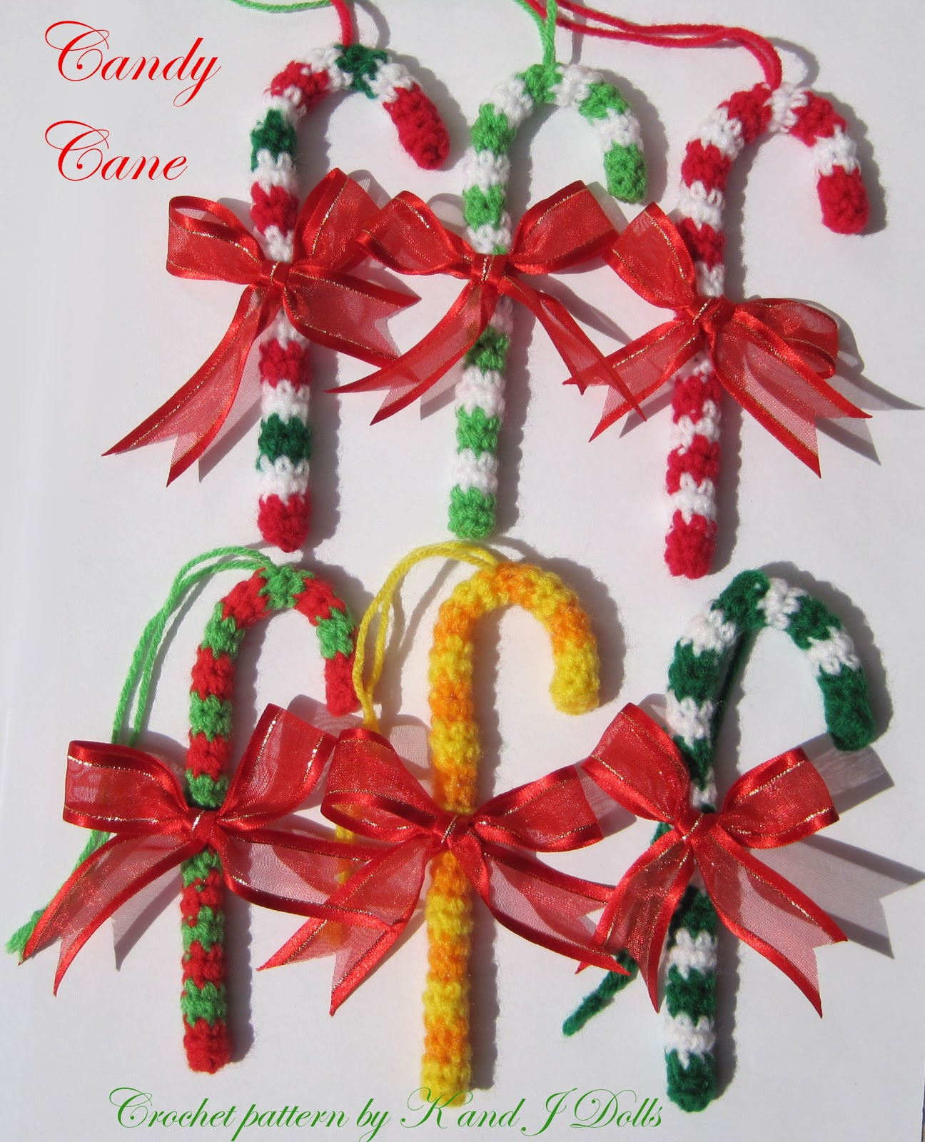 Christmas ornaments crochet pattern - Sayjai Amigurumi ...