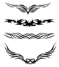 Searabkesen Tatouage Tribal Femme