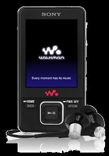 Sony Walkman NWZ-A829 MP4 player black