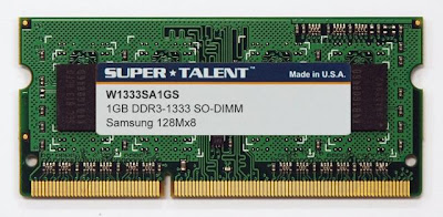 Super Talent 1GB DDR3 SO-DIMM