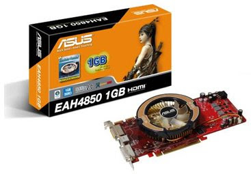 ASUS EAH4850/HTDI/1G video card