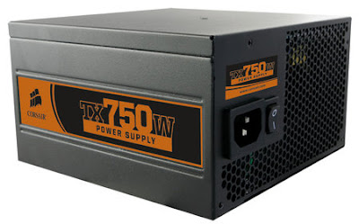 Corsair TX750W PSU black