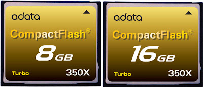 A-DATA CompactFlash Card 350X 8GB/16GB