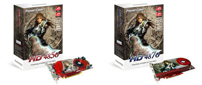 PowerColor ATI Radeon HD 4870 si HD 4850 video card
