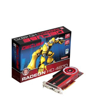 GeCube ATI Radeon HD 4870 video card