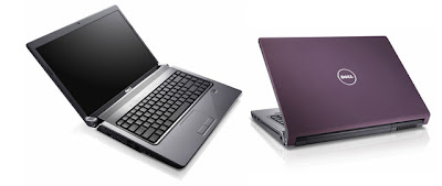 DELL Studio 15/17 inch laptop black purple