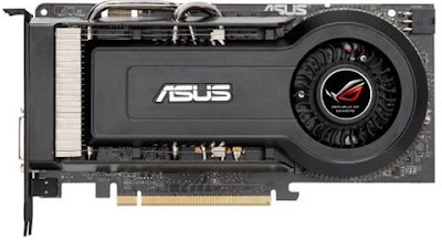ASUS ROG EN9600GT MATRIX/HTDI/512 black video card
