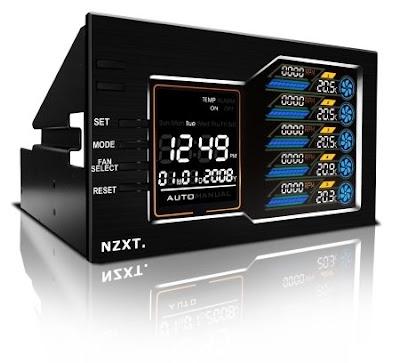 NZXT Sentry LX 5.25 inch fan controller black