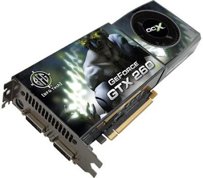BFG GeForce GTX 260 OC2 si BFG GeForce GTX 260 OCX Nvidia video cards