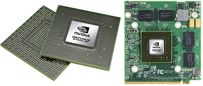 Nvidia 9700M notebook GPU series