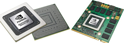 Nvidia 9800M notebook GPU series