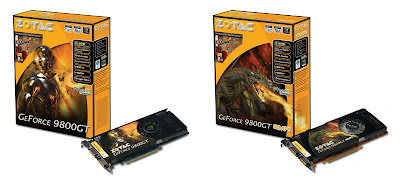 ZOTAC GeForce 9800 GT and 9800 GT AMP! Limited Edition video cards