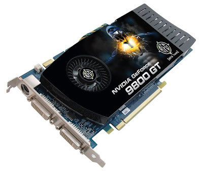 BFG GeForce 9800 GT and BFG GeForce 9800 GT OC video cards