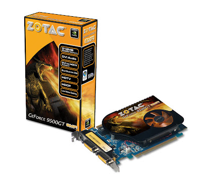 ZOTAC GeForce 9500 GT AMP! Edition, 9500 GT DDR3, 9500 GT DDR2 video cards