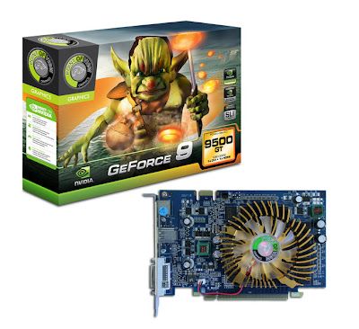Point of View GeForce 9500 GT video card