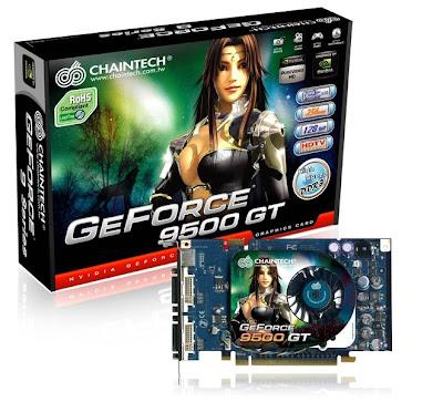 Chaintech GeForce GSE9500GT GDDR3 512MB video card