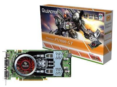 Leadtek WinFast PX9800 GT 512MB video card