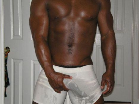 black man dick oozing cum