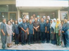 Foto bersama Pak Arief