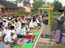 Perayaan idhul adha 1428 H