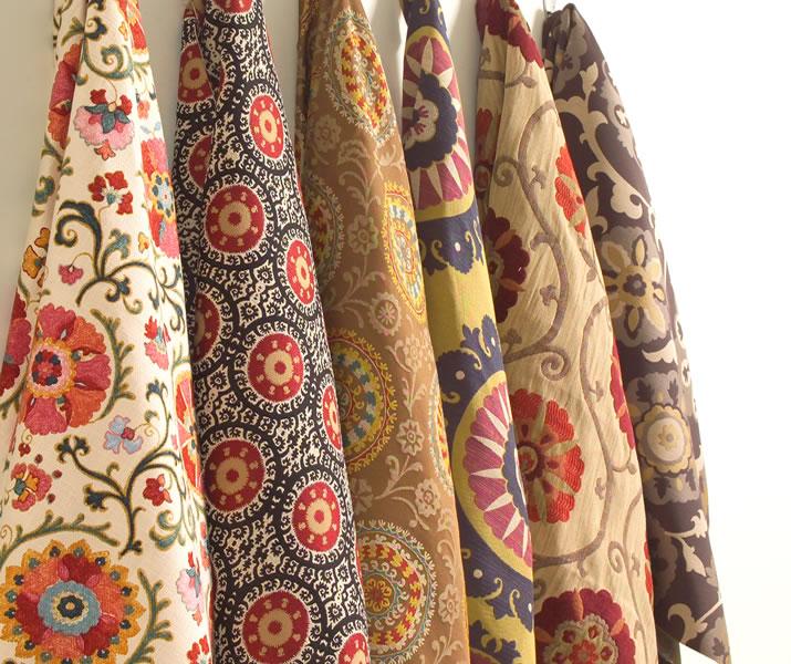 Jpm Design Ikat Amp Suzani Fabrics