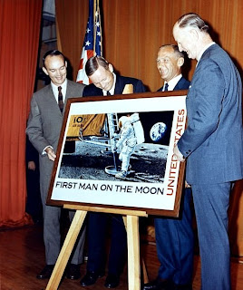 The First Man On Moon Stamp Artistically Recreates Moment That Neil Armstrong Placed His Foot Onto Surface Of For Time