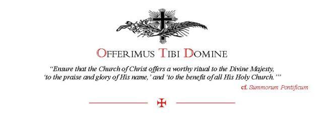 Offerimus Tibi Domine
