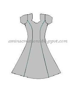 Anarkali or umbrella top and churidhar cutting myideasbedroom com