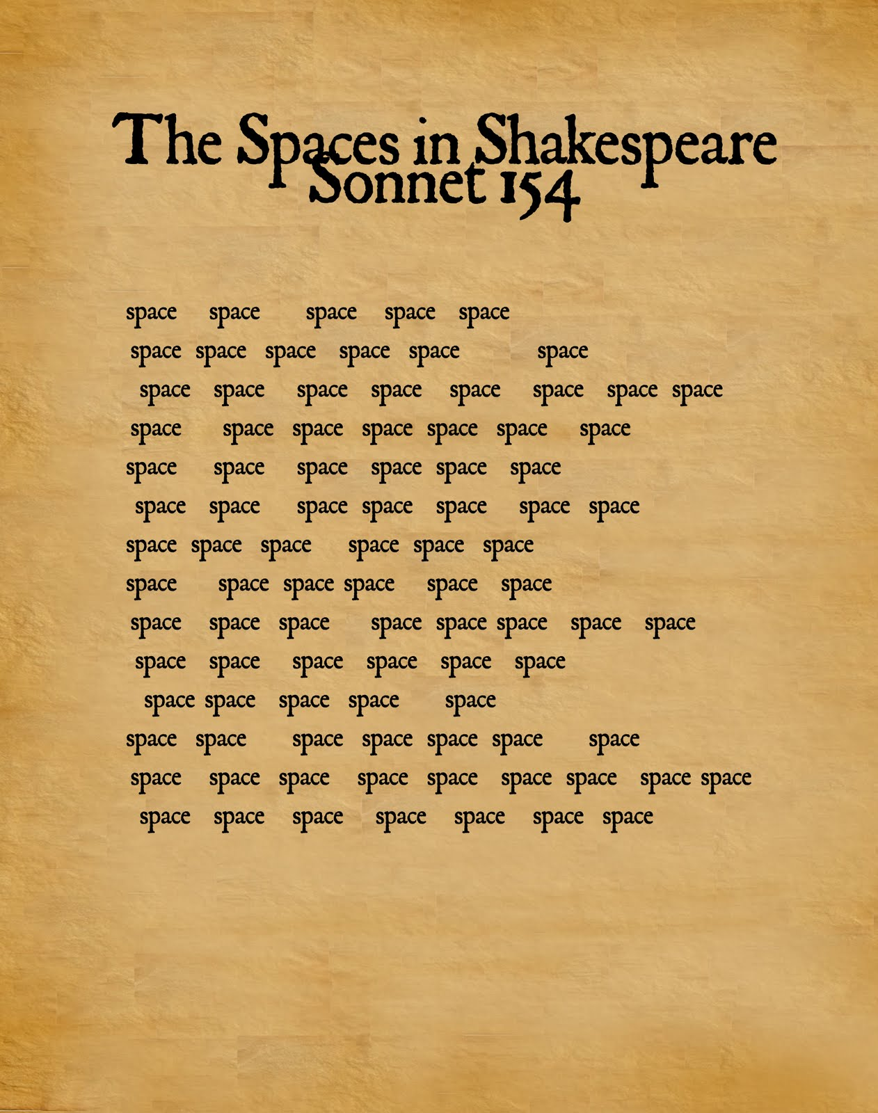 An analysis of the william shakespeares sonnets about love