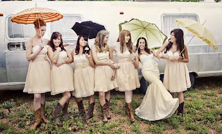 I Really Love This Idea Of Pairing Super Cute Dresses With Cowboy Boots