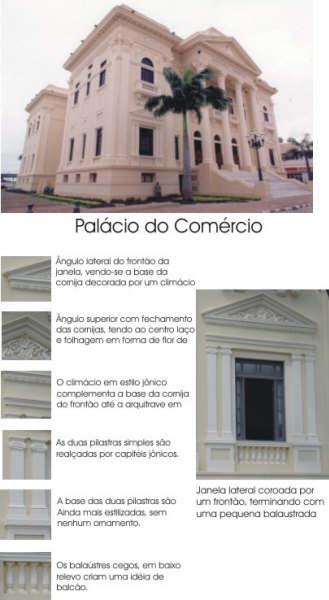 LEITURA ARQUITETÔNICA DO PALACIO DO COMÉRCIO