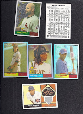 Even More 2010 Topps Heritage Cards