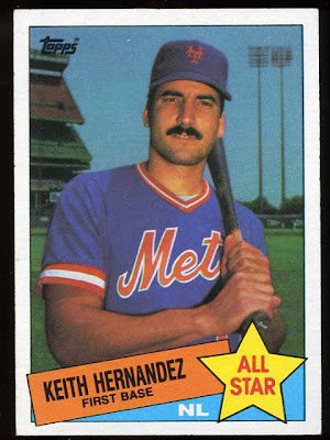 1985 Topps Keith Hernandez All Star