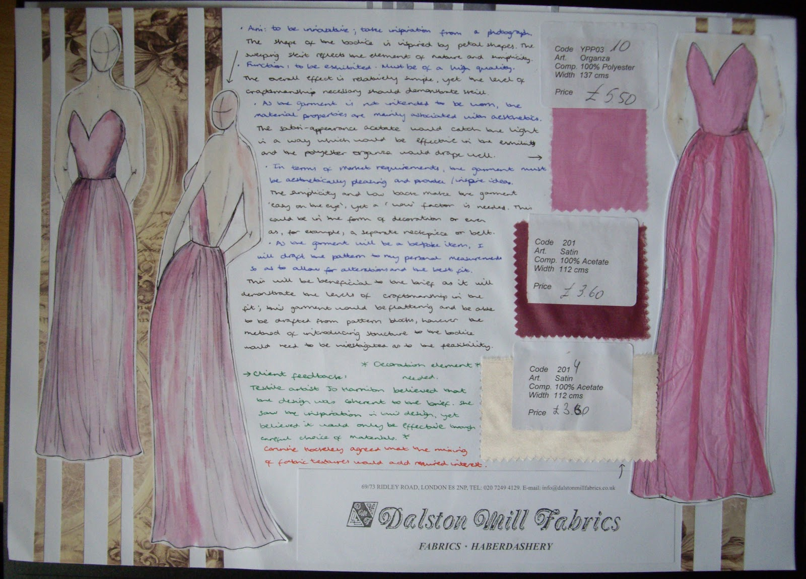 GCSE D&T: FASHION AND TEXTILES