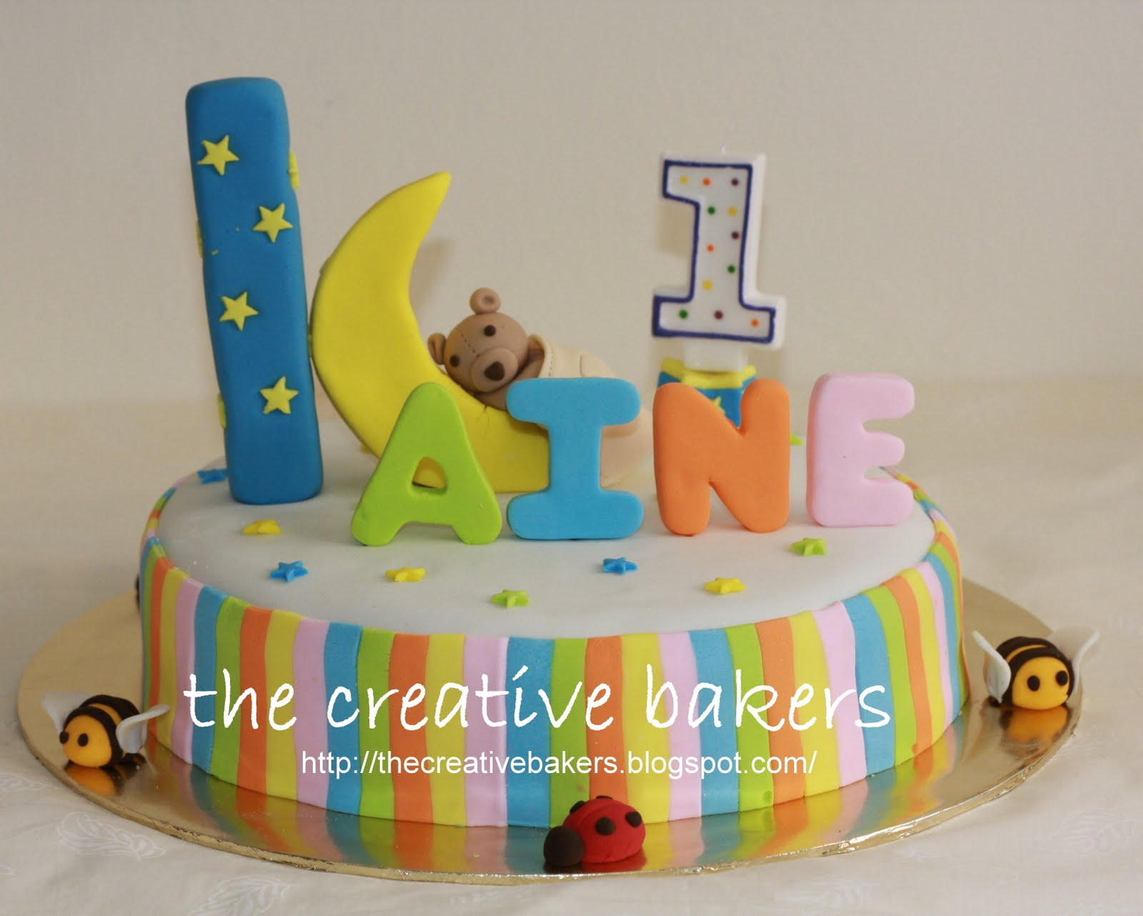 Our 1st Novelty Cake Design For Son Kaine