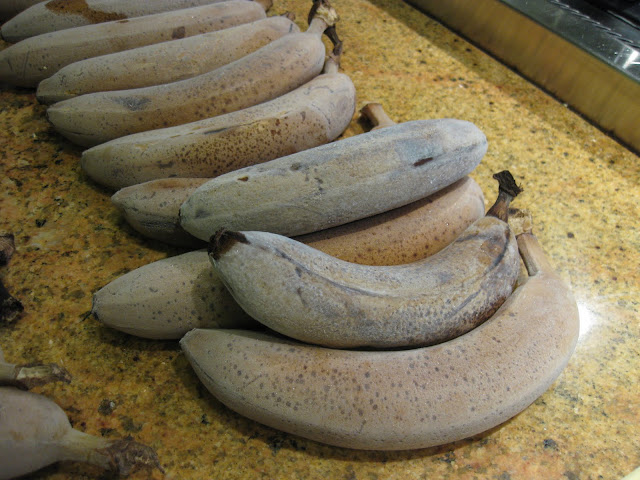 frozen bananas for banana bread