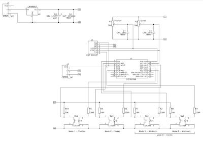 servo motor test devre şeması