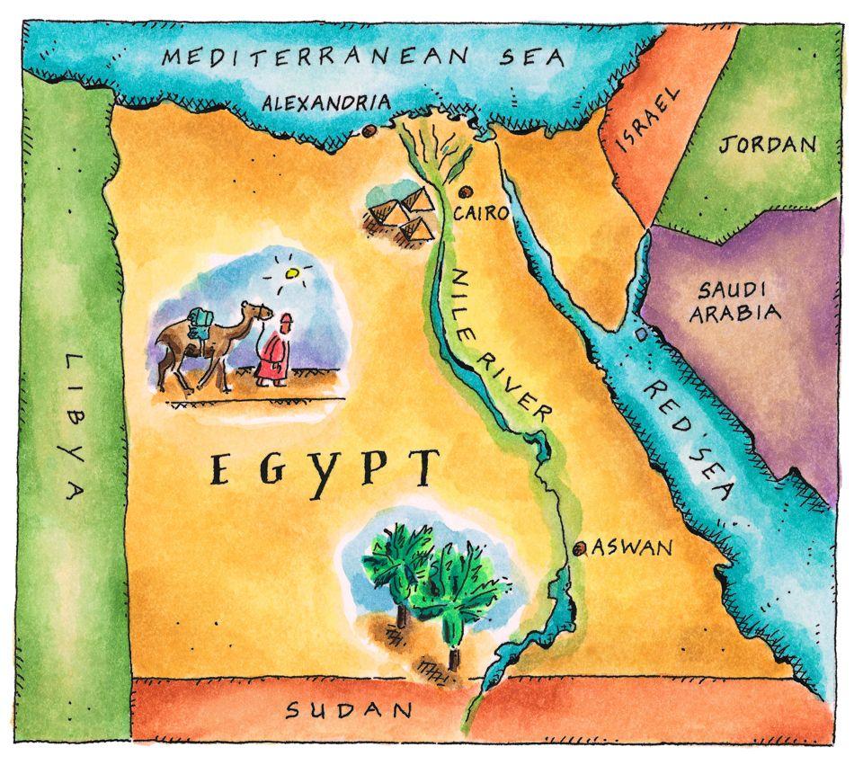 Ancient Egypt Nile River Importance