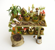 Witches Potting Table