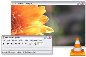 VLC media Player basic interface