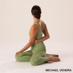 do restorative yoga reclining twist with a bolster