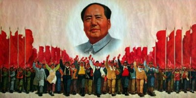 BUT IF YOU GO CARRYING PICTURES OF CHAIRMAN MAO YOU AIN'T GOING TO MAKE IT WITH ANYONE ANYHOW