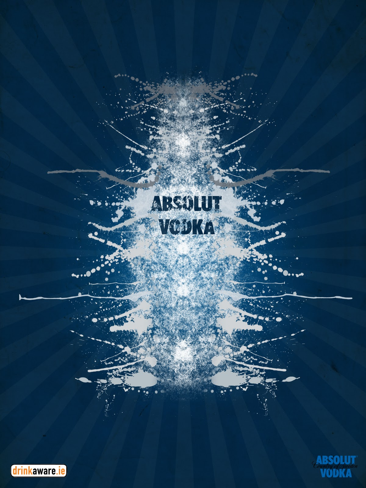 graphic design  absolut vodka posters