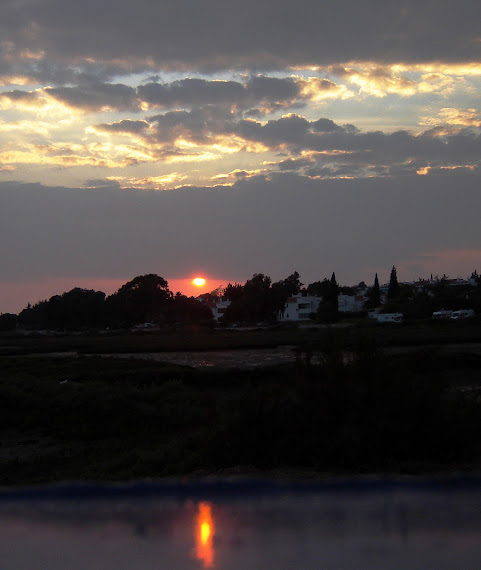 Pôr sol -Ria Formosa