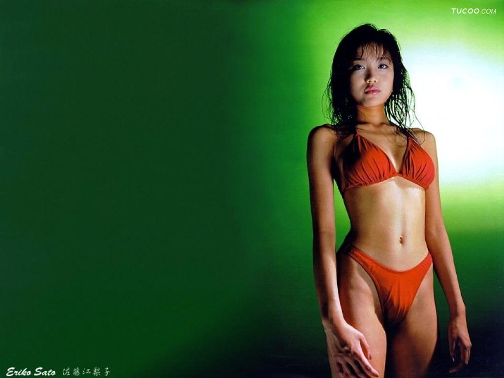Swimsuit Girl Wallpaper Eriko Sato Wallpaper Japan Girls Bikini Girls Sexy Girls