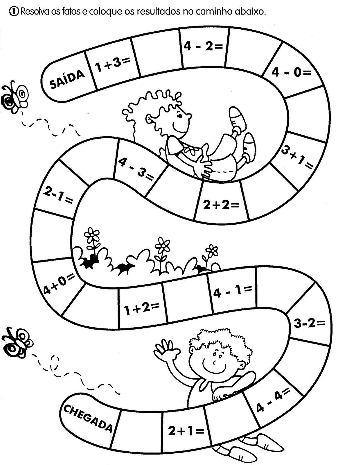 Atividades Escolares Ludicas Atividades Variadas De Matematica