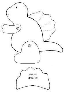 %25B0%25F8%25B7%25E61 jquiltlove - Dinossauros de feltro